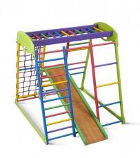 Деревянный спортивный детский комплекс для дома «Юнга мини» 5