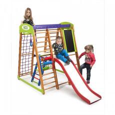 Детский деревянный спорткомплекс для дома «Карапуз Plus 3» 2