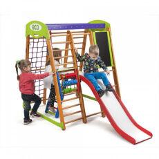 Детский деревянный спорткомплекс для дома «Карапуз Plus 3» 3