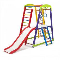 Деревянный спорткомплекс детский для дома «Кроха - 1 Plus 2» 5