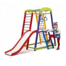 Деревянный спорткомплекс детский для дома «Кроха - 1 Plus 2» 3