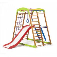 Детский спортивный комплекс для квартиры «BabyWood Plus 2» 2