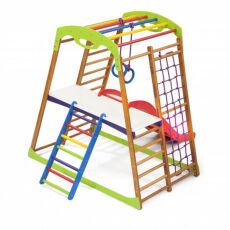 Детский спортивный комплекс для квартиры «BabyWood Plus 2» 3