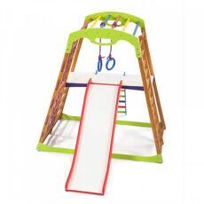 Детский спортивный комплекс для квартиры «BabyWood Plus 2» 5