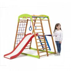 Детский спортивный комплекс для квартиры «BabyWood Plus 2»