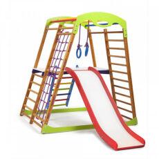 Детский спортивный комплекс для квартиры «BabyWood Plus 2» 4