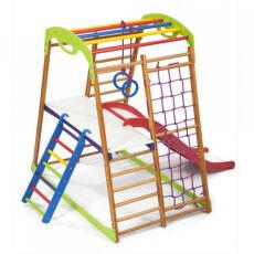 Детский спортивный комплекс для квартиры «BabyWood Plus 2» 6