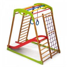Спортивно-развивающий детский комплекс «BabyWood Plus 1» для дома 4