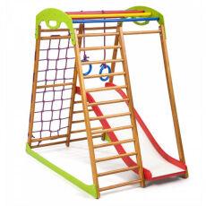 Спортивно-развивающий детский комплекс «BabyWood Plus 1» для дома 2