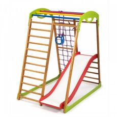 Спортивно-развивающий детский комплекс «BabyWood Plus 1» для дома 3