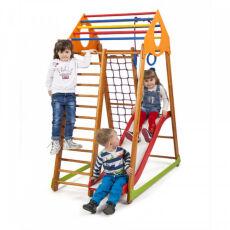 Детский деревянный спорткомплекс для дома «BambinoWood Plus 1» 3