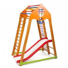 Детский деревянный спорткомплекс для дома «BambinoWood Plus 1» 4