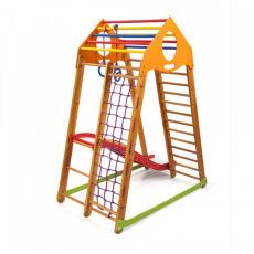 Детский деревянный спорткомплекс для дома «BambinoWood Plus 1» 5
