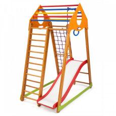 Детский деревянный спорткомплекс для дома «BambinoWood Plus 1» 6