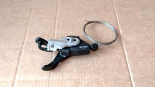 Манетка левая Shimano SLX SL-M670 (2/3 скоростей), Новая