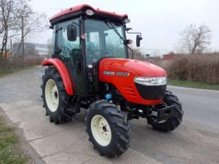 Экспортный б/у трактор 2007 года выпуска Branson 5025 CX 47 л/с + плуг 8