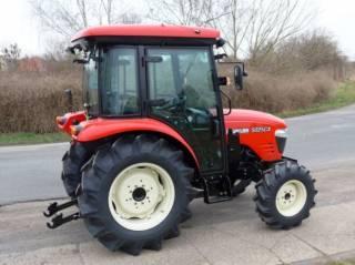 Экспортный б/у трактор 2007 года выпуска Branson 5025 CX 47 л/с + плуг 9