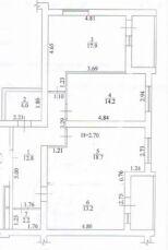 3-к квартира в новострое ЖК Радужный-1, дом заселен в 2018 6