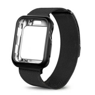 Ремешок Миланская петля +чехол для Apple Watch 1,2,3,4,5,6/38,40,42,44 5