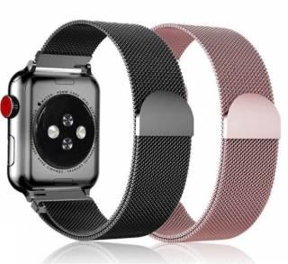 Ремешок Миланская петля +чехол для Apple Watch 1,2,3,4,5,6/38,40,42,44 7