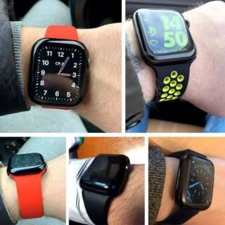 Силиконовый чехол на Apple Watch series 1,2,3,4,5,6/38,40,42,44mm 6
