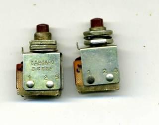 Переключатель (кнопка) КМ1-1 2