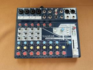 Мікшерний пульт SOUNDCRAFT Notepad-12FX стан нового