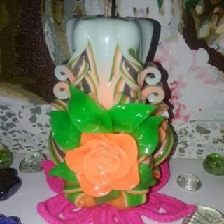 Сувенирные резные свечи 4