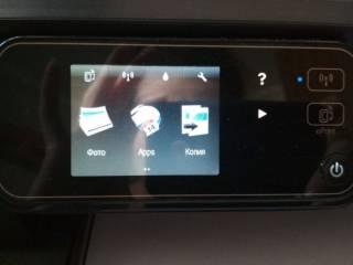 HP Photosmart 5510 Wifi МФУ Принтер сканер копир фотопринтер 6