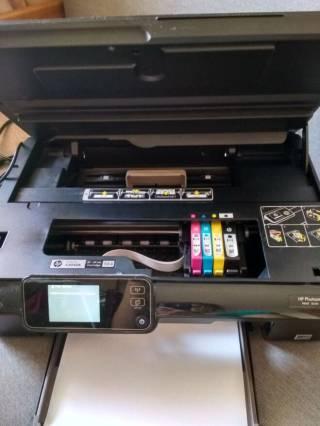 HP Photosmart 5510 Wifi МФУ Принтер сканер копир фотопринтер 7