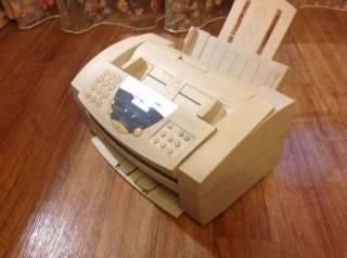 Принтер, ксерокс, копир, факс в одном устройстве. Ч/б и цветн печать. 5
