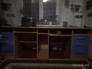 Продам стінку в дитячу кімнату (двоповерхове ліжко з ортопеличними мат 2