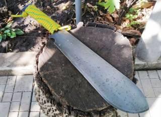 Мачете (нож выживания, лагерный нож, тесак Григория Соколова) 3