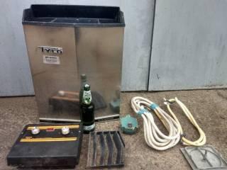 Срочно(!) устройство для сауны, TYLO 8 кВт, Ragnar Frunck 7