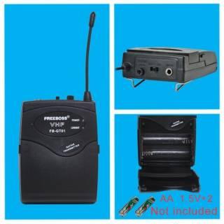 Freeboss FB-GT01 VHF беспроводной гитарный микрофон Гитарные 8