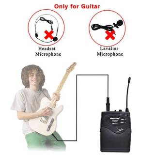 Freeboss FB-GT01 VHF беспроводной гитарный микрофон Гитарные 7