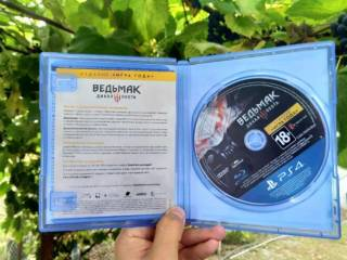 Ведьмак 3, Игра года; Wither 3:Wild Hunt GOTY; Playstation 4, диск Ps4 3