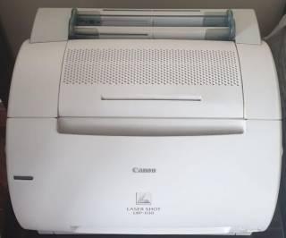 Лазерный принтер Canon LBP-1120/ + 2 оригинальных катриджа