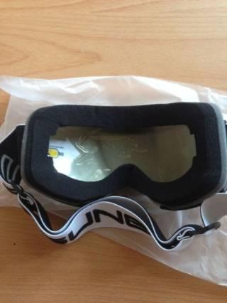 Маска для лыж и сноуборда Sposune HX043-2 Glossy White-Grey 5