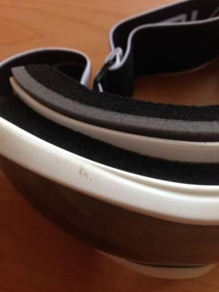 Маска для лыж и сноуборда Sposune HX043-2 Glossy White-Grey 4