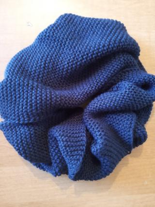 Снуд (шарф хомут) в два обхвата. 2