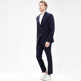s.Oliver Premium пиджак р.46 100% шерсть меринос шерстяной классика 5