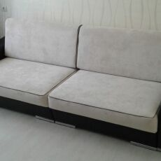 Перетяжка углового дивана 2