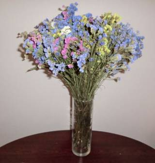 Сухоцветы букеты из сухоцветов икебана флористика декор