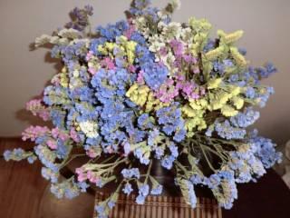 Сухоцветы букеты из сухоцветов икебана флористика декор 5