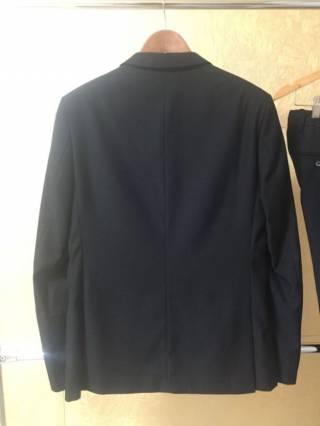 Мужской классический черный костюм 3