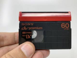 Кассеты Sony miniDV premium, Video8 8