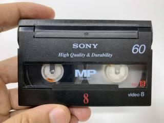 Кассеты Sony miniDV premium, Video8 7