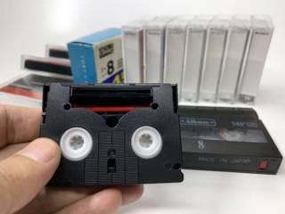Кассеты Sony miniDV premium, Video8 2