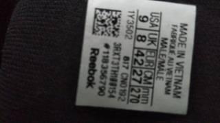 Кросовки Reebok кожа натуральная, мужские размер 9.0 (42) куплены в СШ 3
